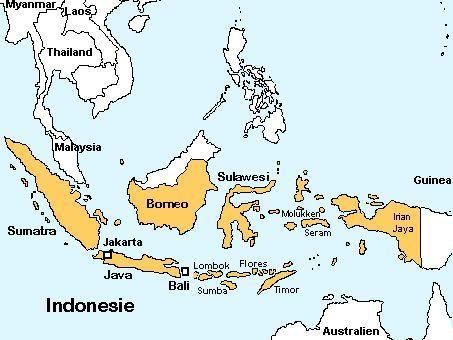 een plaatje van heel indonesie