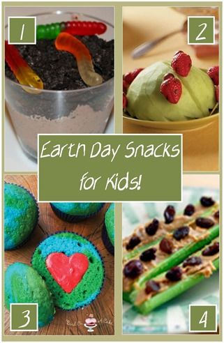 If you're new here, you may want to subscribe to my FREE Weekly Newsletter. Thanks for visiting!Earth Day is coming up, and whether you home school or not, ther | See more about snacks kids, earth day and earth.