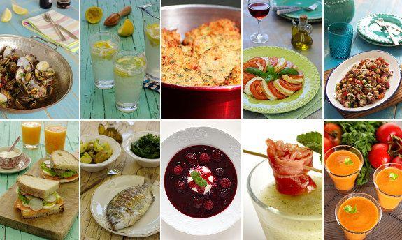 Cinco Quartos de Laranja: As minhas 10 receitas preferidas de Verão