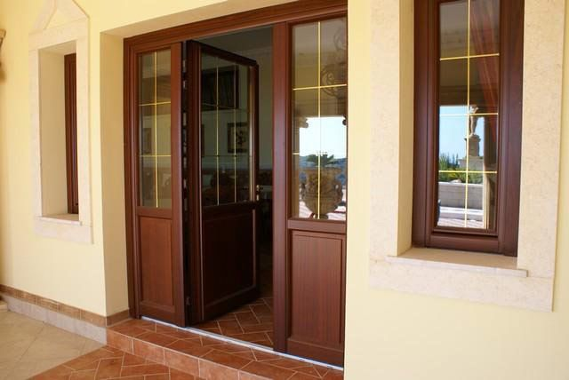 Entry Doors-Wood-Wood-Clad-Aluminum - America Italiana Doors Collections-High Quality Interior and Exterior Doors