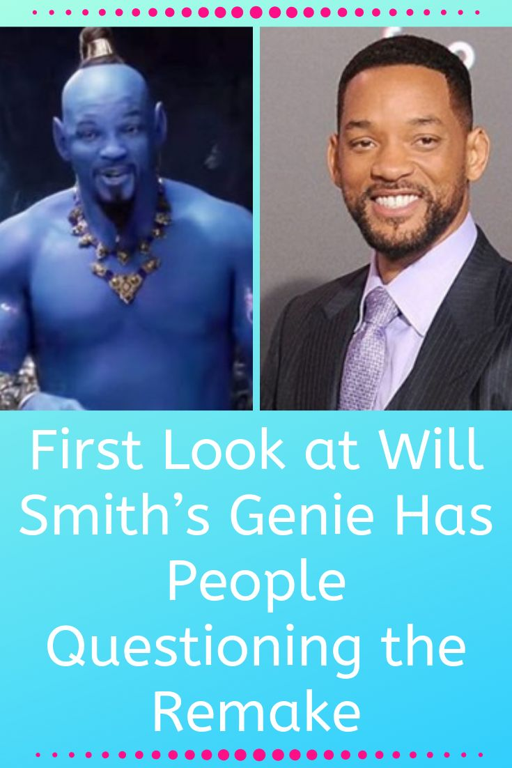 First Look at Will Smith's Genie Has People Questioning the Remake