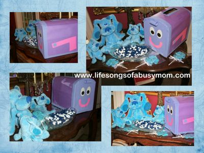 21 best Blues Clues Birthday Party images – Blues Clues Birthday Card