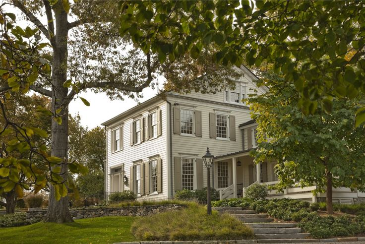 Restorations and Additions to an 18th Century Farm in Southern New England – Main House | John B. Murray Architect