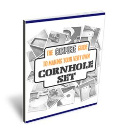 Cornhole Set How-to!  Can't be too difficult...  I'd probably enjoy painting them and sewing the bags!