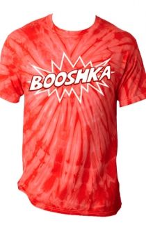 BOOSHKA Tie Dye Tee (Red) T-Shirt - Kian Lawley T-Shirts - Online Store on District Lines