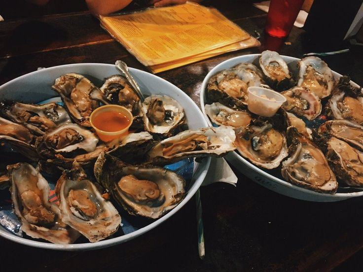 """<b><a href=""""http://www.leeandricksoysterbar.com"""">Oysters at Lee & Rick's</a></b><br> 5621 Old Winter Garden Road <br> Known for their incredible and fresh oysters, Lee & Rick's, which is shaped like an old docked boat, has been a consistent and reasonably priced seafood place since 1950. <br><br> Photo via Angela L./Yelp"""