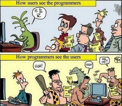 Gebruikers vs. Ontwikkelaars
