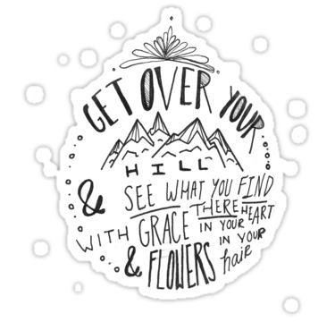 Mumford and Sons After The Storm Sticker