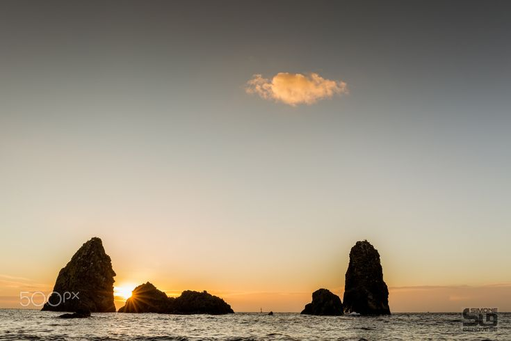 sunrise from Acitrezza - sunrise from Acitrezza