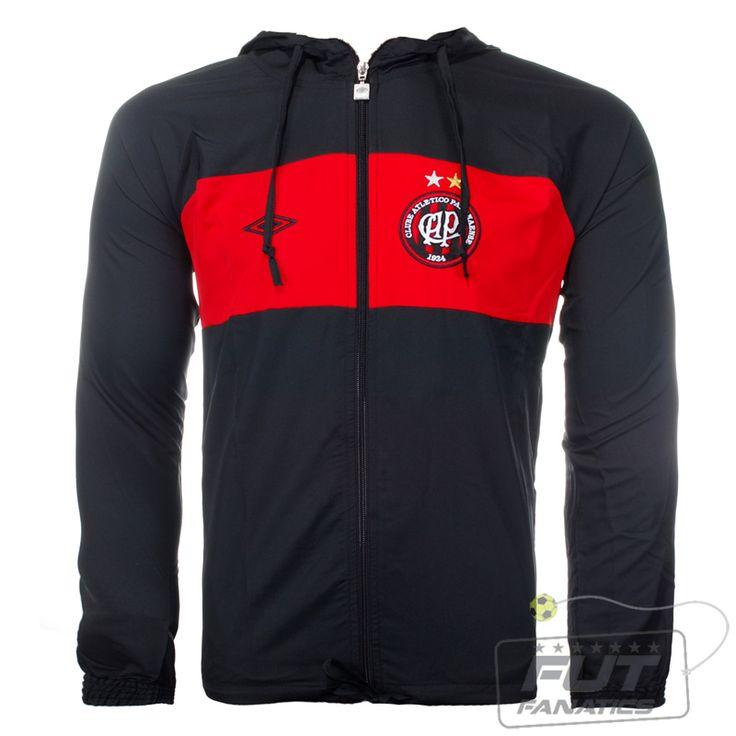 Jaqueta Umbro Atlético Paranaense SPW Bag - Fut Fanatics - Compre Camisas de Futebol Originais Dos Melhores Times do Brasil e Europa - Futfanatics