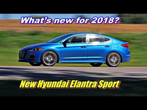 New Hyundai Elantra Sport review - What's new for 2018?