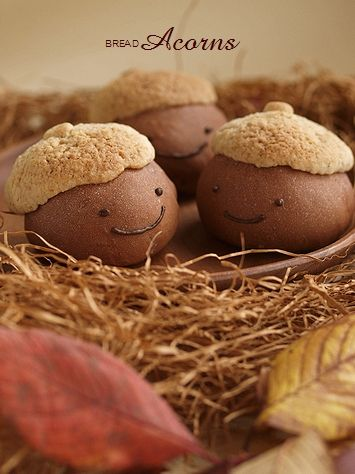 Another Happy Rainbow blog recipe for the cutest bread. Site is in Japanese.