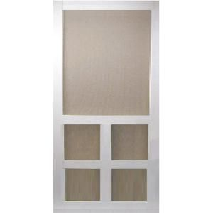 Kimberly Bay 32 in. x 80 in. Victoria White Vinyl Screen Door DSVI32 at The Home Depot - Mobile