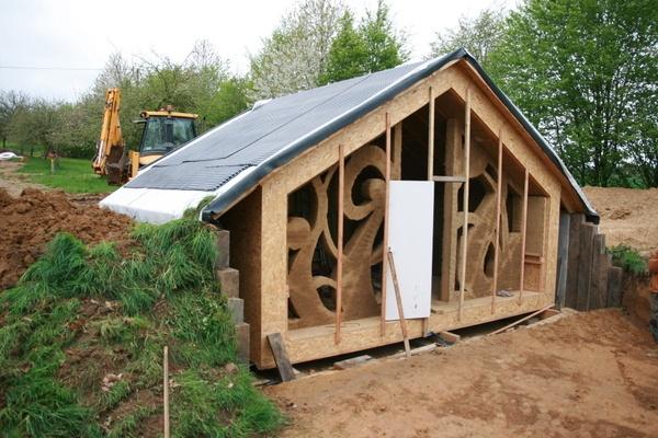 création de 2 cabanes bioclimatiques