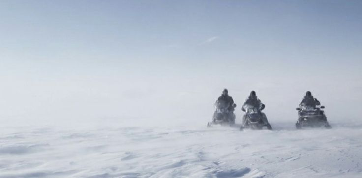 2 hour snowmobile tour 180,- € per person