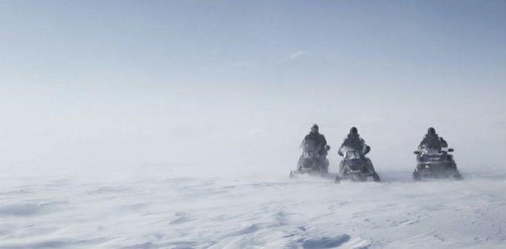2 hour snowmobile tour 180,- € per person