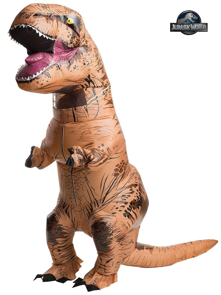 HOW THE FUCK ARE THESE OUT OF STOCK? Mens Jurassic Park T-Rex Inflatable Costume - Mens Superheroes Halloween Costumes