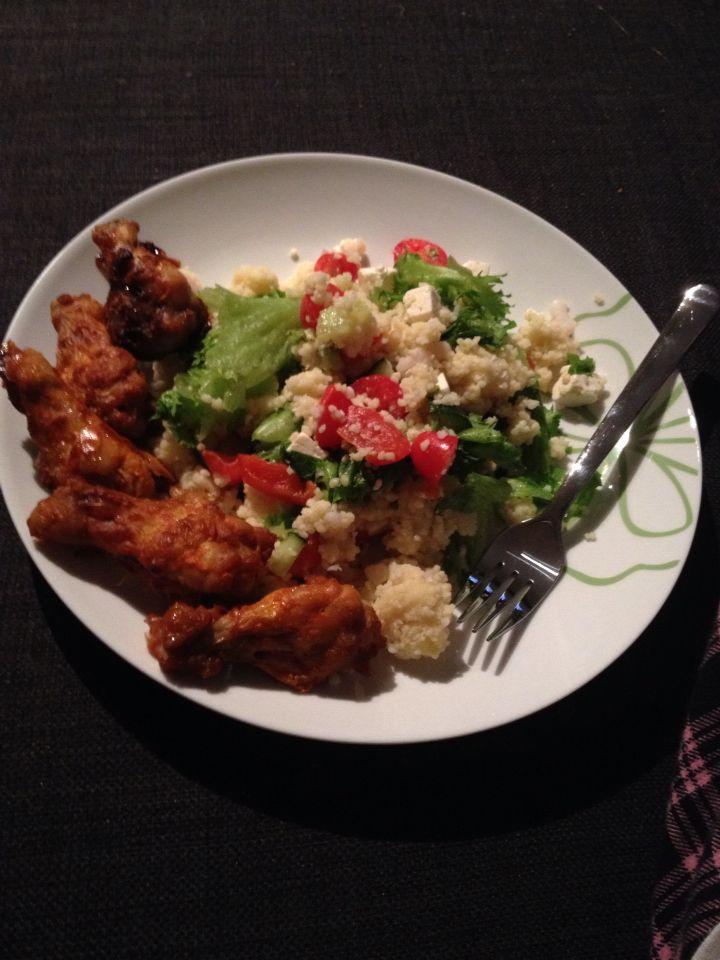 Couscous ja kanankoivet