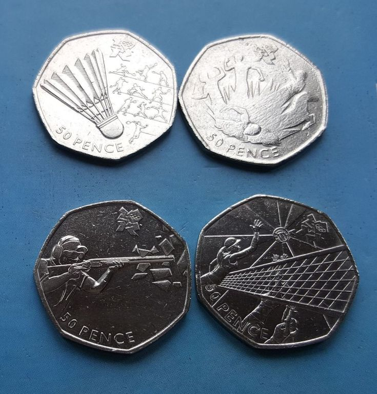 50p  Olympic Coins Shooting Modern Pentathlon Badminton Volleyball  2011 #Coins #50p coins £7.99 or Best Offer Ebay Uk item Number 263556445339