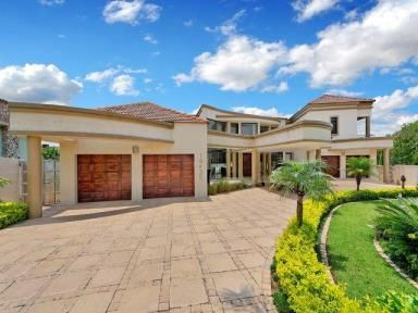 Superb modern home with superior finishes in Sandton.
