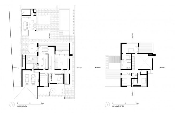 C House By Parasite Studio House Design House House Floor Plans Parasite house floor plan