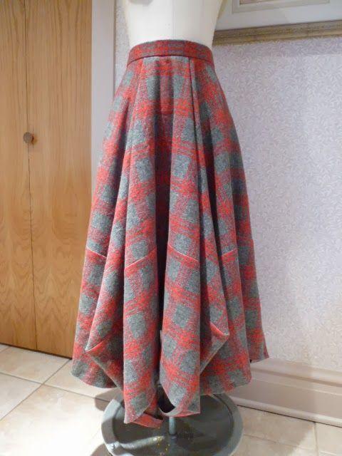 Sham's Tablecloth Skirt. A true winner!