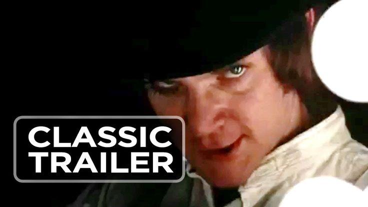 """""""La naranja mecánica"""" (1971). Dir. Stanley Kubrick. Basada en """"A Clockwork Orange"""" de Anthony Burgess (1917-1993). Puedes encontrar el libro en http://absysnet.bbtk.ull.es/cgi-bin/abnetopac?TITN=5167"""