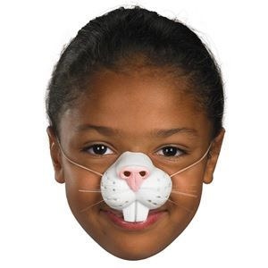 Nose'N Around Rabbit Nose - 007184 | trendyhalloween.com