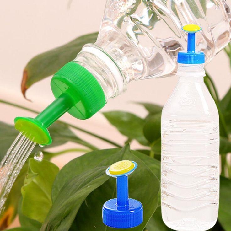 Portátil De Plástico Maceta Maceta Pequeña Boquilla de Riego Herramientas de Jardinería Planta Waterer