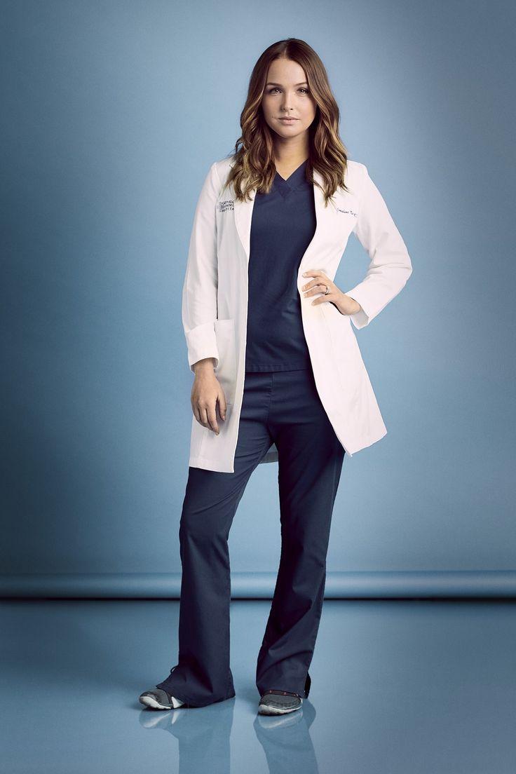 WornOnTV: Jos white off shoulder dress on Greys Anatomy