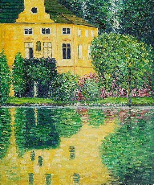 Gustav Klimt 'Schloss Kammer am Attersee'