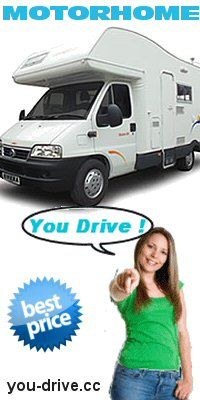 Cheap Car Rental and Motorhome Rental for best Holidays in USA, Canada, Australia, New Zealand and Europe - http://www.you-drive.cc
