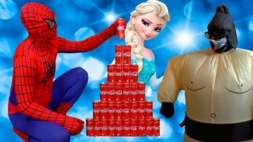 КОКА КОЛА ЧЕЛЛЕНДЖ! CRAZY COCA COLA CHALLENGE ЧЕЛОВЕК ПАУК против ЧУДОВИЩА Эльза ПИРАМИДА Coca-Cola http://video-kid.com/20547-koka-kola-chellendzh-crazy-coca-cola-challenge-chelovek-pauk-protiv-chudovischa-elza-piramida-.html  КОКА КОЛА ЧЕЛЛЕНДЖ! CRAZY COCA COLA CHALLENGE! ЧЕЛОВЕК ПАУК против ЧУДОВИЩА Эльза ПИРАМИДА Coca-Cola для детей:  Человек Паук приехал к Замороженной Эльзе купить Кока Колу, потом Спайдермен врезался на самокате и упал. Spider-Men делает пирамиду из Coca Cola, но вдруг…