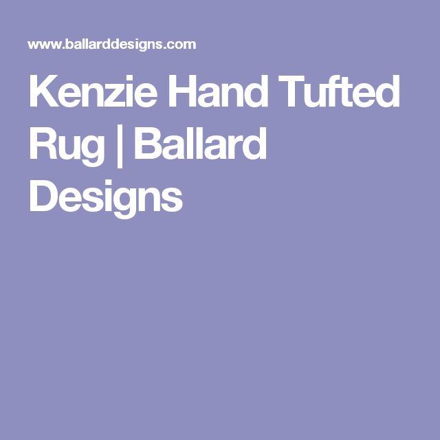 Kenzie Hand Tufted Rug | Ballard Designs