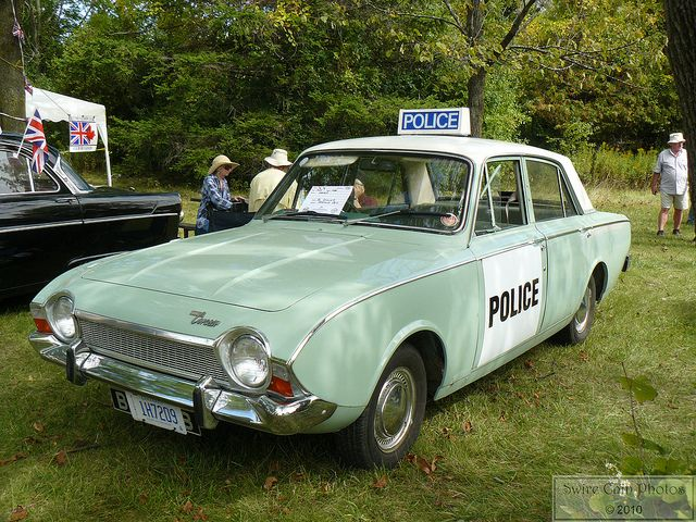 Vintage British Police Car? by Canadian Pacific, via Flickr