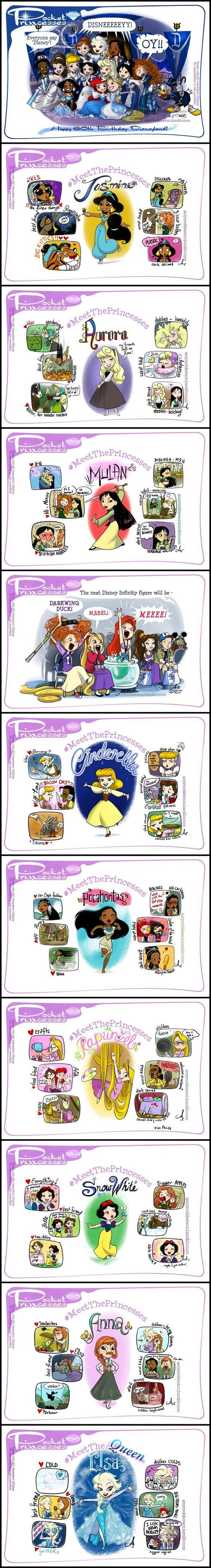 Pocket Princesses (Part 16) by Amy Mebberson: