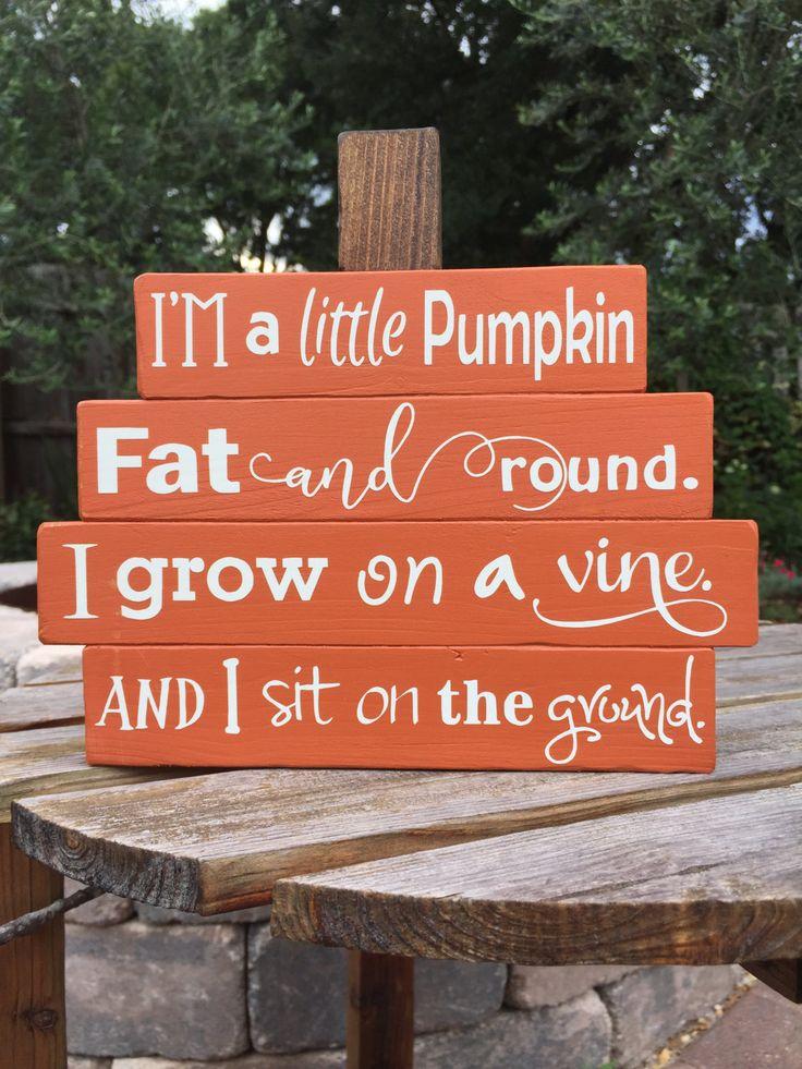 small wood pumpkin fall decor interior wood pumpkin stack thanksgiving decor halloween decor pumpkin decor rustic fall sign wood sign by - Christian Halloween Decorations