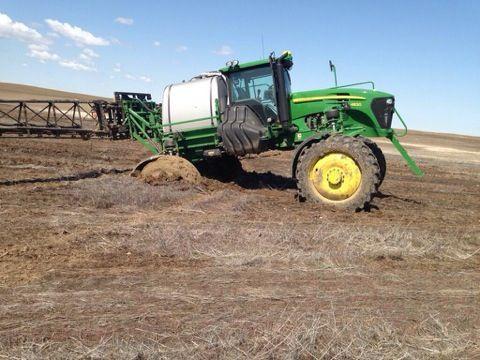 John Deere sprayer stuck #plant14