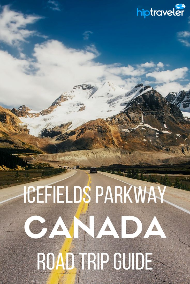 A guide to road tripping the Icefields Parkway in Alberta, Canada, passing through  Jasper and Banff. Travel in Canada | Blog by HipTraveler: Bookable Travel Stories from the World's Top Travelers