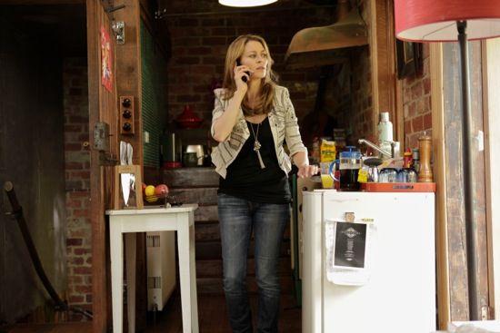 Billie Proudman - Offspring - Season Three, Episode 12: wears Kate Moss for Top Shop jacket