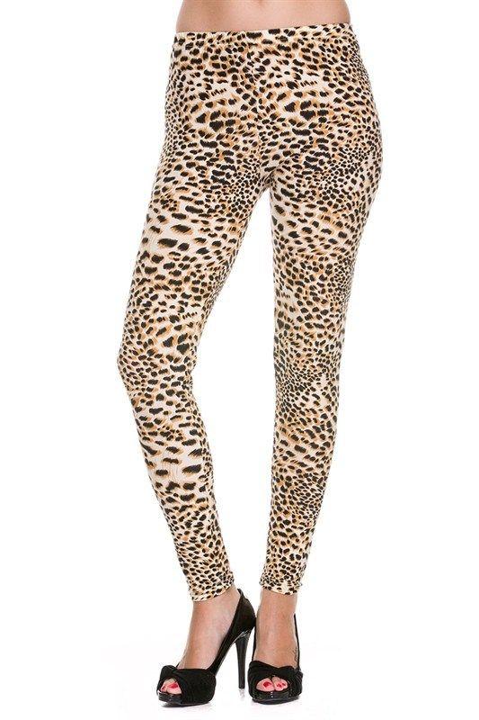 Kiki La'Rue - Cheetah Fame Leggings - PLUS, $20.00 (http://www.kikilarue.com/cheetah-fame-leggings-plus/) - Underneath the skirt.