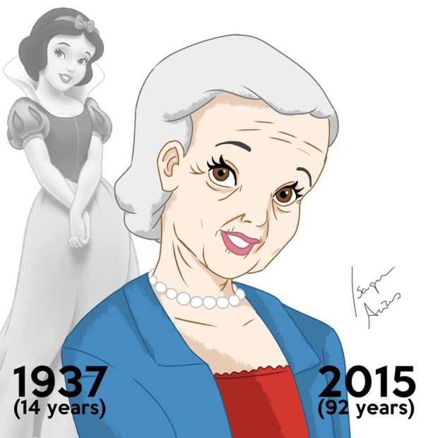 Disney Princesses Reimagined: Here's What They May Look Like Today, if They Aged | E! Online Mobile