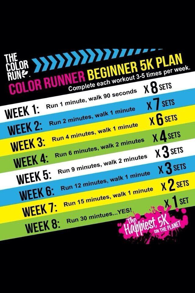 I want to be a runner! This will be a good start :)