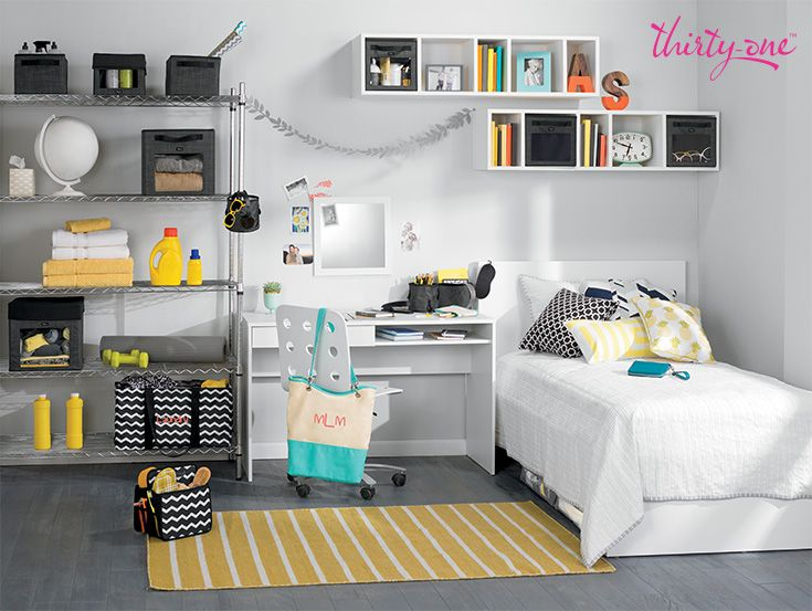 Bring style to a boring dorm with fashionable  functional solutions for  every corner  31 GiftsThirty One GiftsBedroom. 600 best Thirty One Solutions images on Pinterest   Thirty one