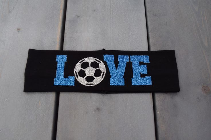 Love Soccer Headband