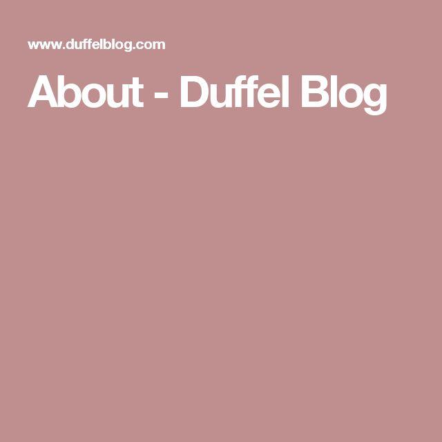 About - Duffel Blog