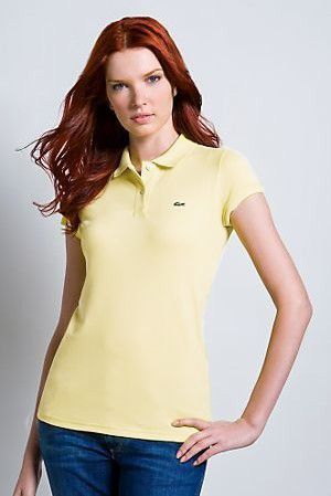 polo ralph lauren outlet online Lacoste Women's Short Sleeve 2 Button Stretch Pique Polo Shirt Yellow http://www.poloshirtoutlet.us/