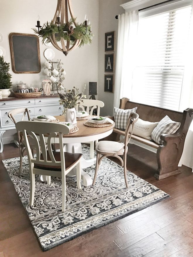 25 Exquisite Corner Breakfast Nook Ideas In Various Styles Farmhouse Dining Room