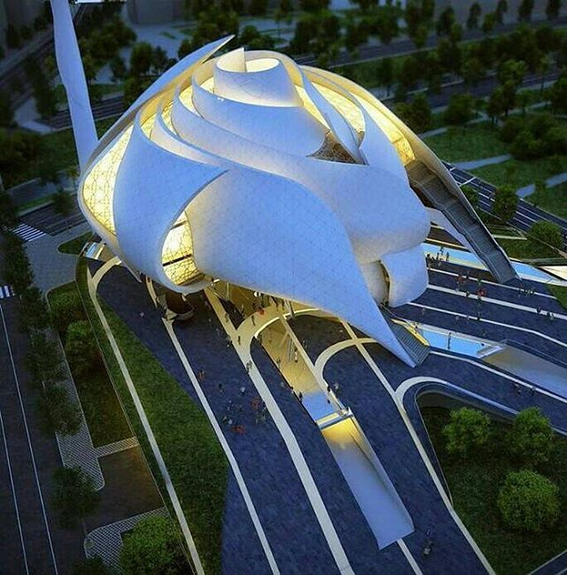 Beautiful White Rose Mosque ..Albania                                                                                                                                                                                 More