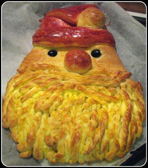 Thermomix Tarif Defterim: Santa Claus Bread